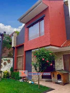 Casa de venta con áreas verdes, sector Misicata, Cuenca, C574