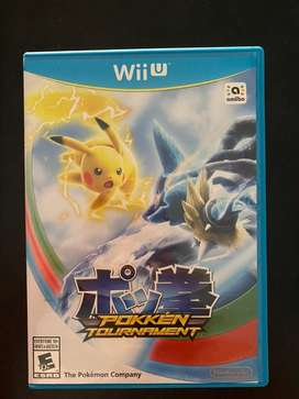 Pokemon pokken tournament wii u como nuevo