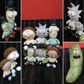 RICK Y MORTY PELUCHES