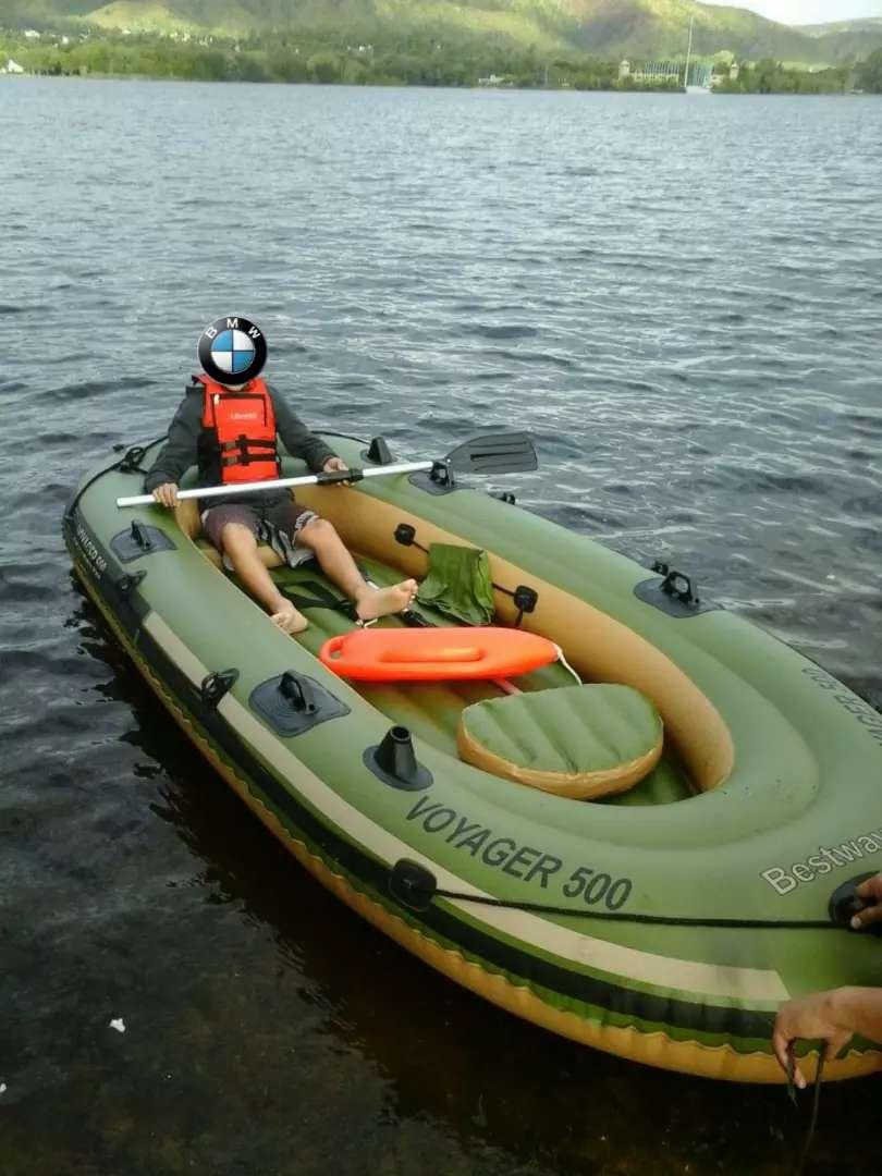 vendo Voyager 500 o permuto por kayak 0