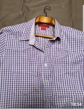 Camisas usadas muy buen estado marcas Rochas Polo Lacroix Lacosteo