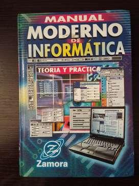 Libro Manual moderno de informatica