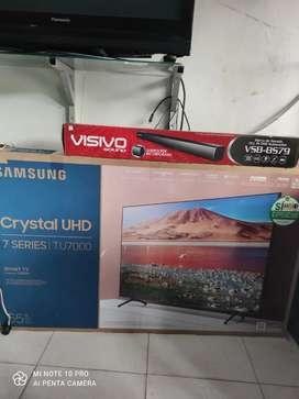 Televisor de 50 UHD 4K PANTALLA CRISTAL 2020