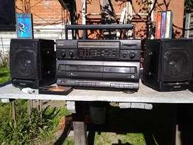 RADIOGRABADOR AIWA CA-W37, usado segunda mano  Belén de Escobar, Buenos Aires
