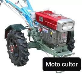 Moto cultor 18 hp ,remolque,arado,rratra,wachadora,trilladora,sembradora, cocechadora de maiz