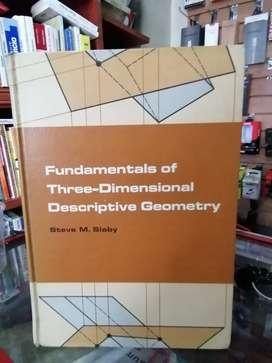 Geometría descriptiva en tres dimensiones en la cava del libro aipod tablets calculadoras domicilios
