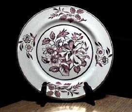Platos decorativos. Porcelana inglesa y cerámica.