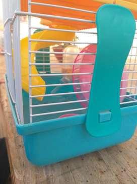 Jaula para hamster nueva