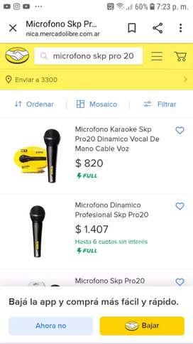 Microfono SKP Pro 20