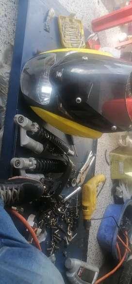 Se vende partes de pulsar 180 carta amortiguadores parrilla originales y super económicos