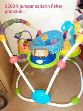 SALTARIN FISHER PRICE 360•