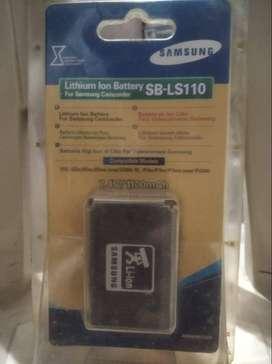 Batería de cámara de video Samsung