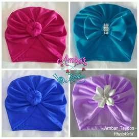 Turbantes para bebé y niñas