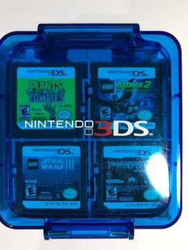 Juegos Nintendo DS y Estuche 3DS