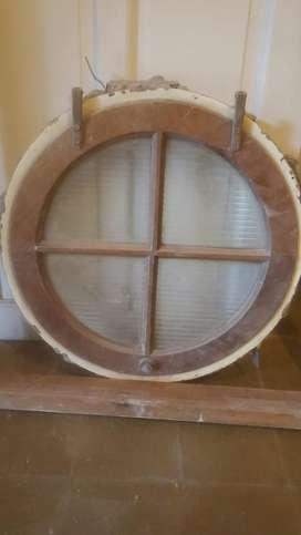 Vendo ventana redonda 0,70 de diametro