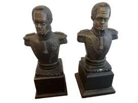 Busto de Bolívar en bronce antiguo el precio es por cada uno