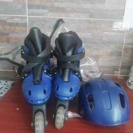 Vendo patines para niño en buen estado nuevos
