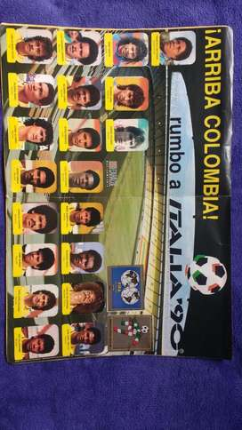 Album Panini 1988 Colombia