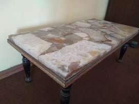 Vendo mesa de mármol para living