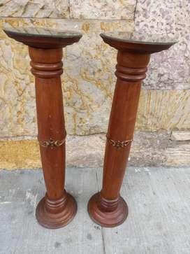 Columnas en madera