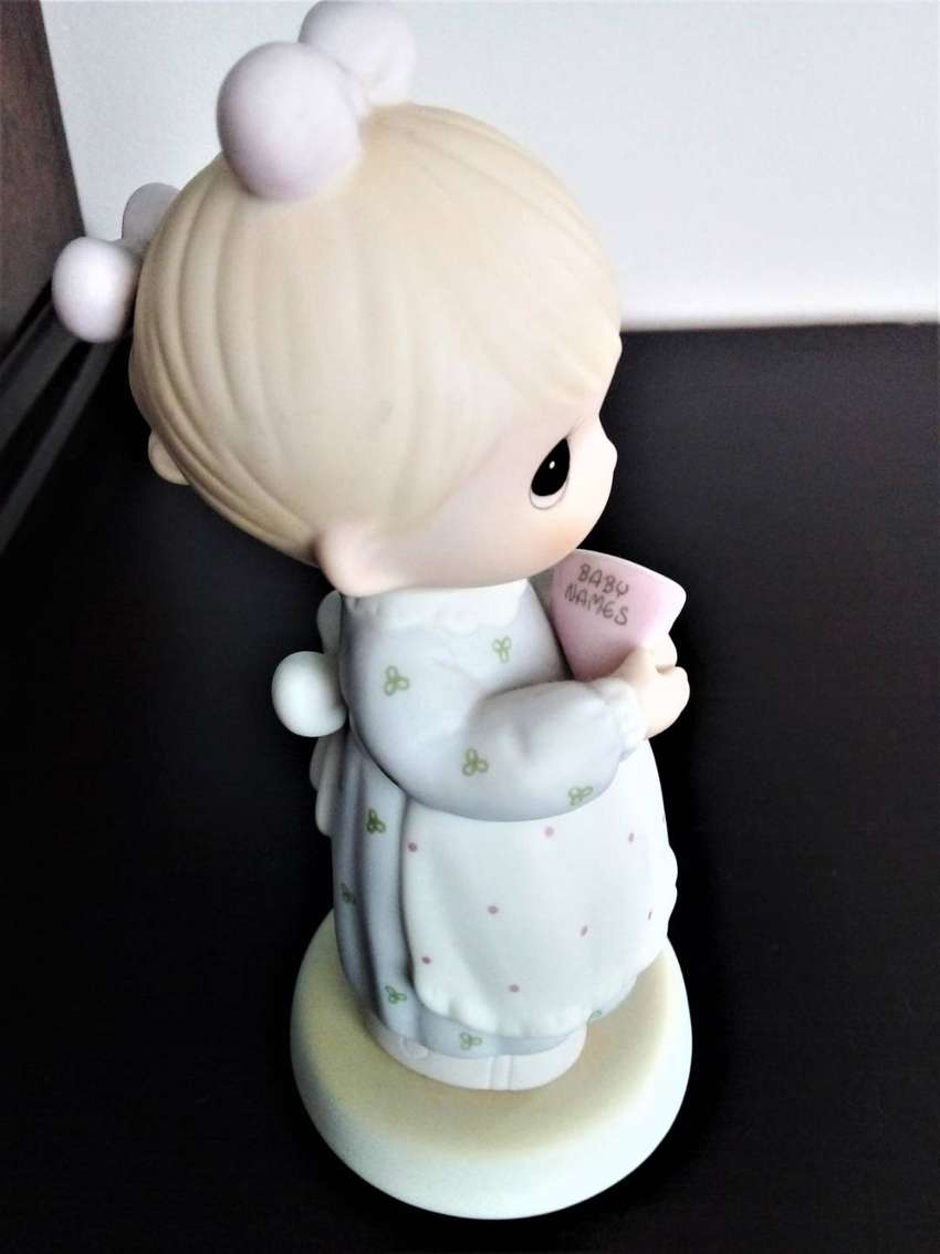 Figurin Preciosos Momentos Celebrando Embarazoazo