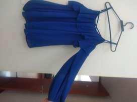 Blusa Derek azul rey