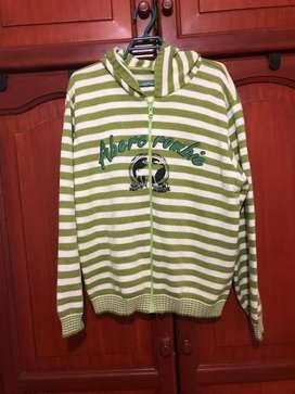 Sweter de Capota Abercrombie talla L