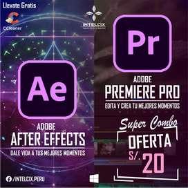 Que cada click defina tu creatividad After Effects + Premiere Pro la mejor herramienta