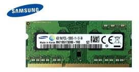Ram para portatil  ddr3 de 4gb portatil de segunda