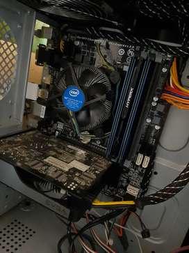 Combo de Actualización Intel ACEPTO TARJETA