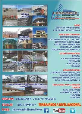 DISEÑO Y CONSTRUCCION DRYWALL