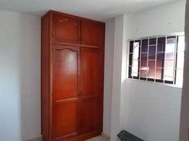Se arrienda habitación con closed y servicios incluidos