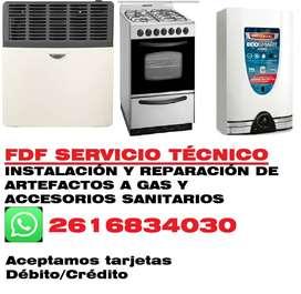 FDF Servicio Técnico de artefactos a gas y artefactos sanitarios