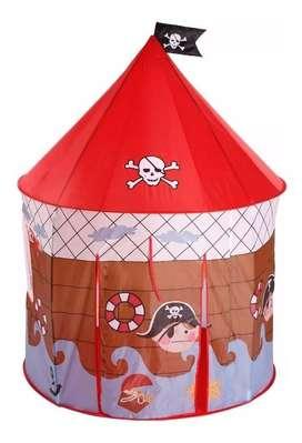 Carpa Castillo Niño Pirata Infantil Casita
