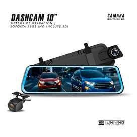 Dashcam | Sistema de video seguridad y retroceso | Grabación Delantera y Trasera | 1080p Full HD | Precio desde: S/.240