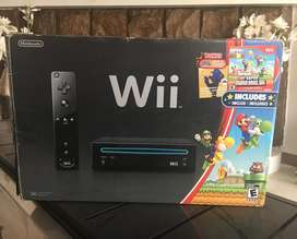 Nintendo Wii Negro Mario  Música