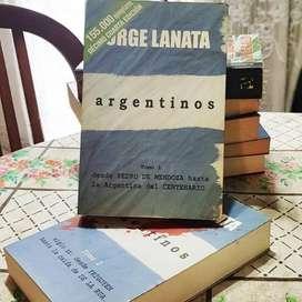 Libro Usado. Argentinos 1 Y 2