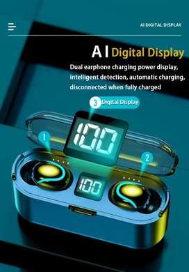 Audifonos Bluetooth 5.0 Touch + Power Bank 2200mah Touchcontrol