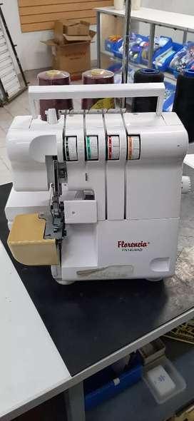 Máquina Familiar Overlock 4 Hilos
