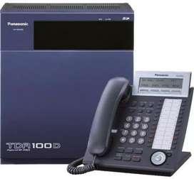 KXTDA100D PANASONIC COMO NUEVA PARA 40 ANEXOS A MAS, INCLUYE UN TELÉFONO OPERADOR PANASONIC DIGITAL KXT7630