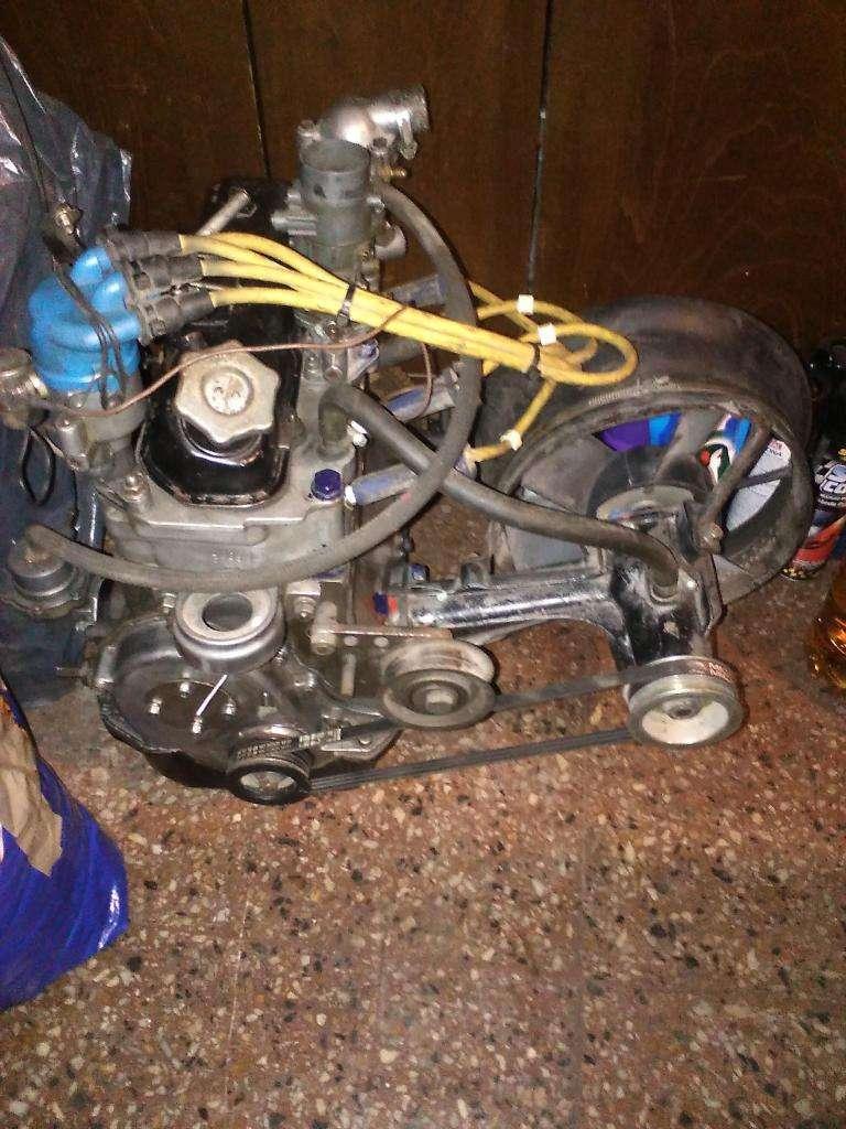 MOTOR DE FIAT 600 DE COMPETICION ULTIMO CAMPEON 0
