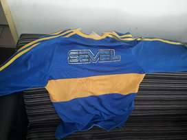 Camiseta retro adidas de boca juniors original