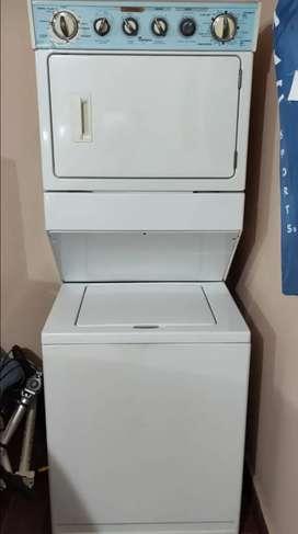 Torre lavadora secadora whirpool