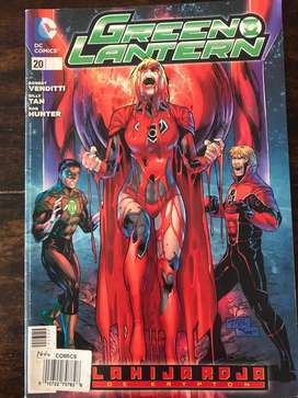 Dc comics: green lantern #20