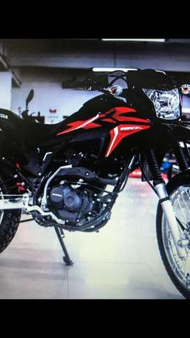 Honda XR 190i / Linea nueva 2020 Impecable item okm  - Patentada - La mas linda negro y rojo -