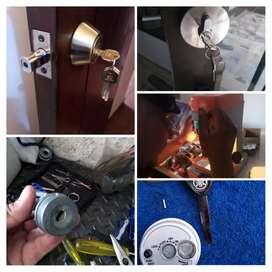 Chapas y llaves cerraduras cerrajeros