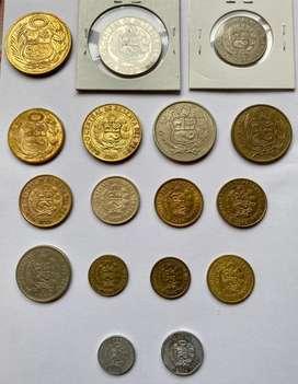 Peru monedas antiguas