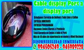 Cable display Port a display port