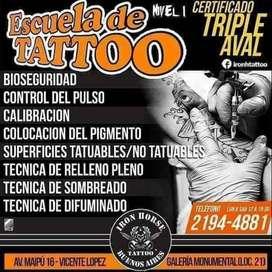 Tatuajes escuela y cursos