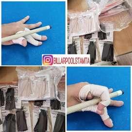 Guantes de billar 3 dedos